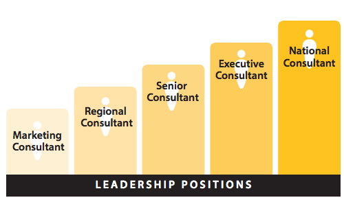 Leadership positions in the company