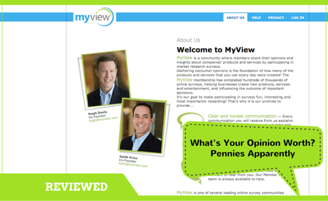 MyView Survey Review