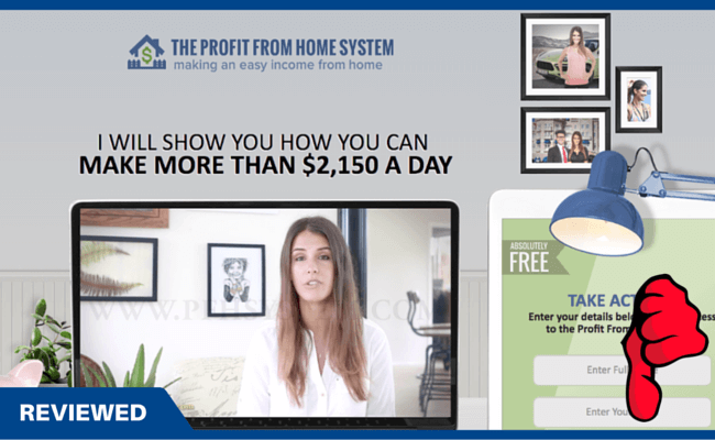Profit From Home System Scam review