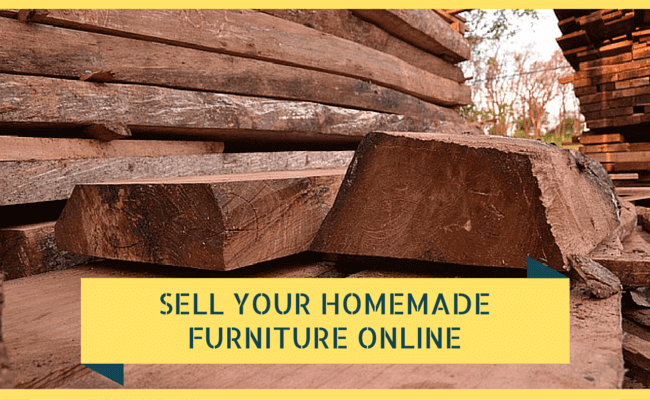 Sell homemade furniture online