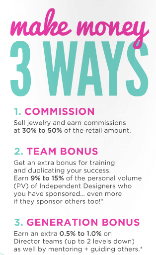 Three ways to earn with Origami Owl