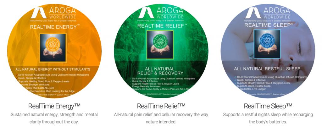 Aroga products
