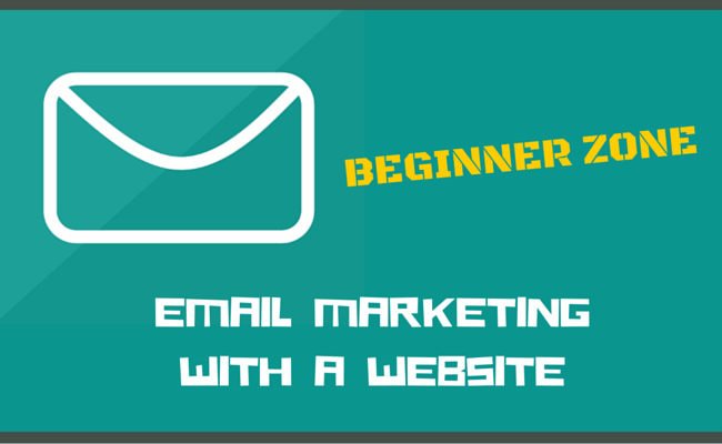 Email marketing with a website for beginners