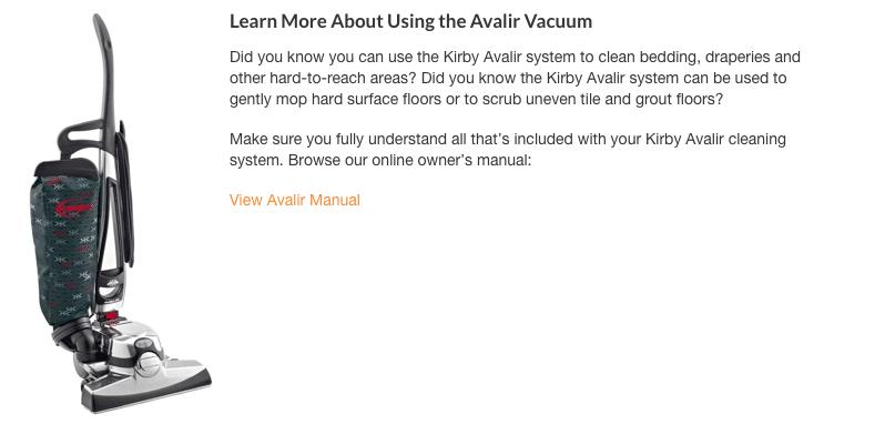 Kirby Avalir system