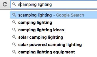 Google Instant ideas