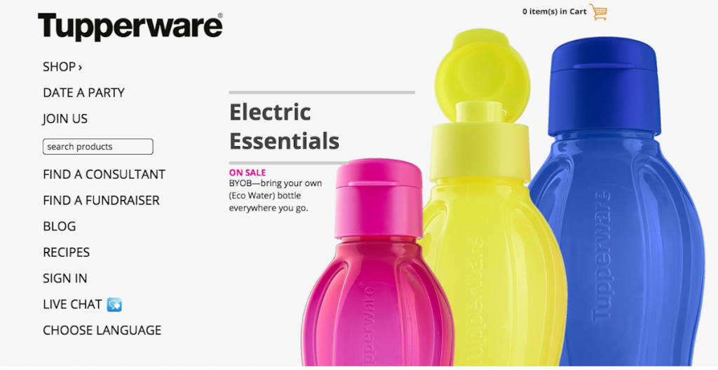 Shop from a Wide Range of Tupperware Items with Exciting Offers. There is a huge collection of Tupperware products catalogue online at the official store and at online shopping sites.