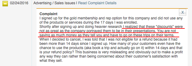 BBB Complaint 2