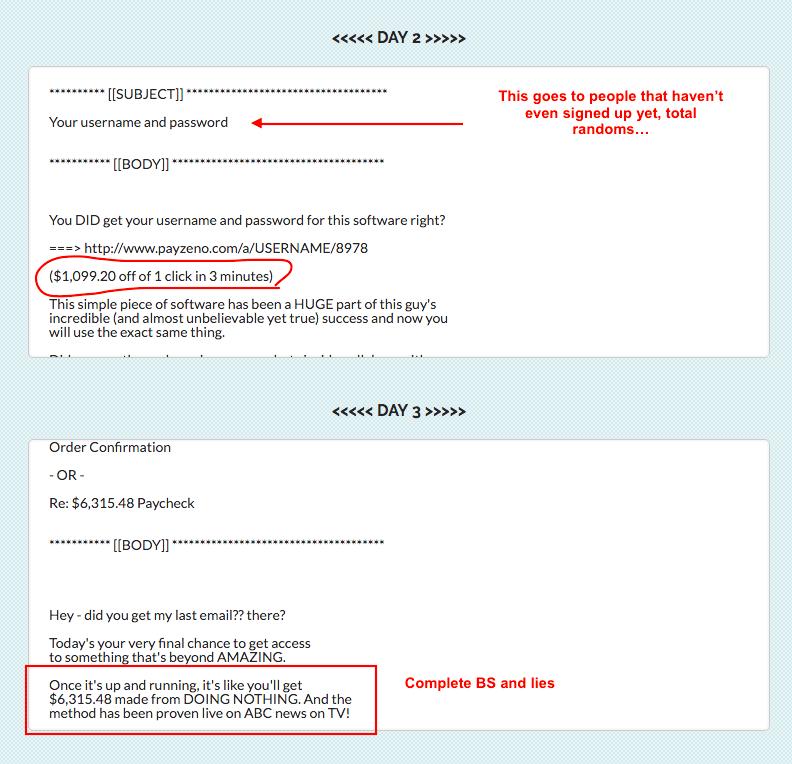 Email Swipes