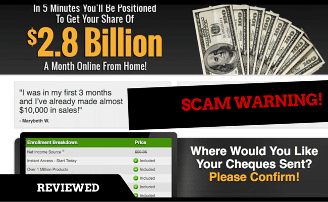 Net Income Source Scam