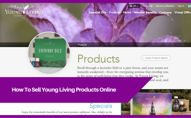 Sell Young Living Online