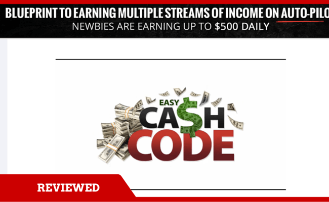 The Easy Cash Code Review