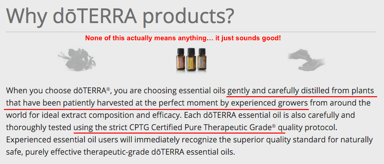 What makes doTERRA products worthwhile