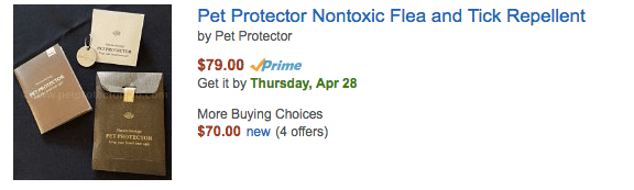 Amazon Listed Pet Protector Products