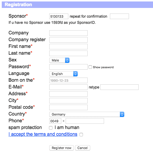 Personal Information They Want