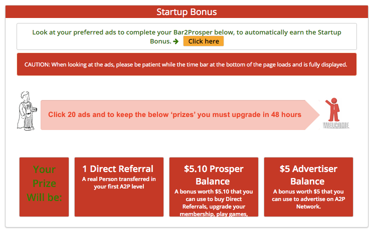 Startup Bonus