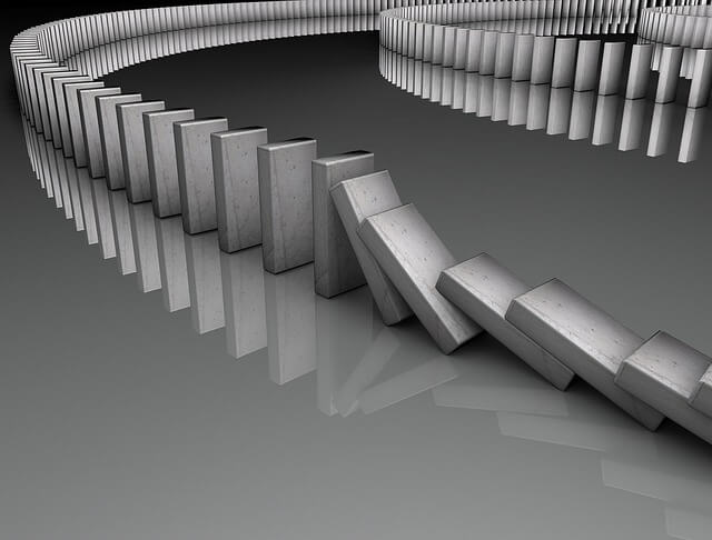 Domino effect from downline