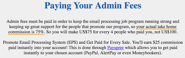 EPS Admin Fees