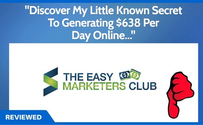 Easy Marketers Club Review