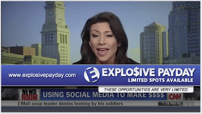 Explosive Paydays Sales Page Video