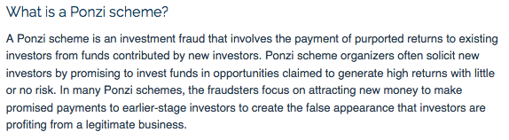 SEC Ponzi Scheme Facts