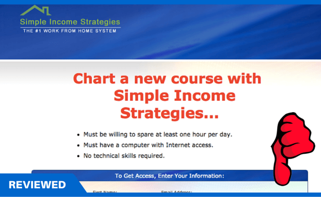 Simple Income Strategies