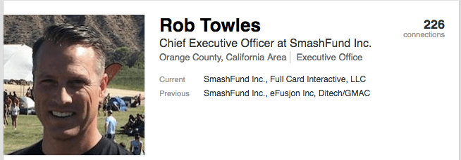 Rob Towels Linkedin Profile