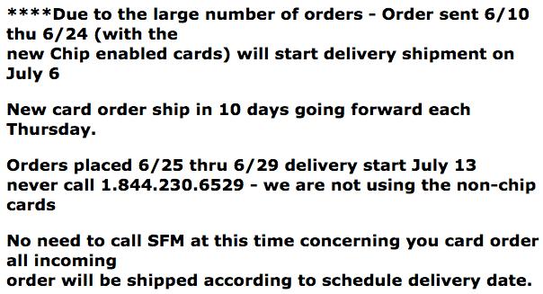 SFM Update PPR