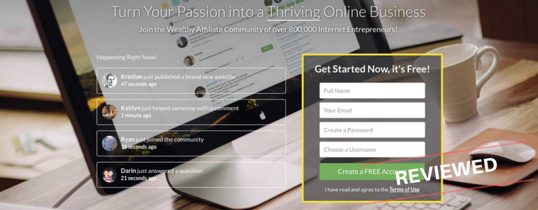 Wealthy Affiliate Review: Passion To Profit In ONE Platform