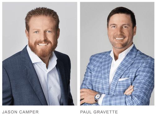 Jason Camper and Paul Gravette