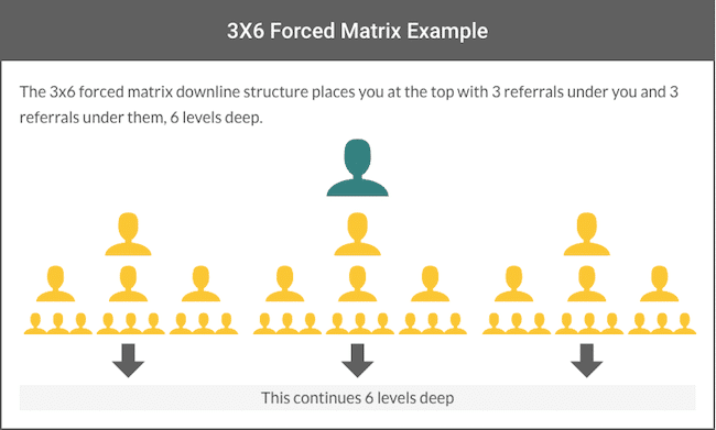 3X6 Forced Matrix Example