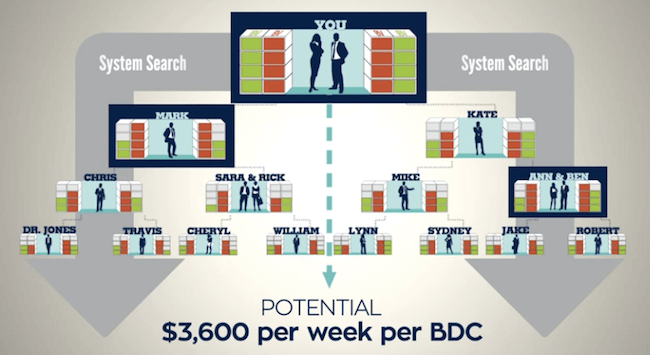 Business Development Centre Income Cap