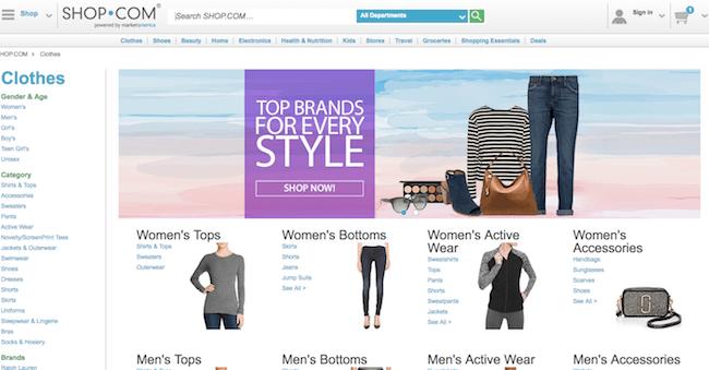 Shop.com Website