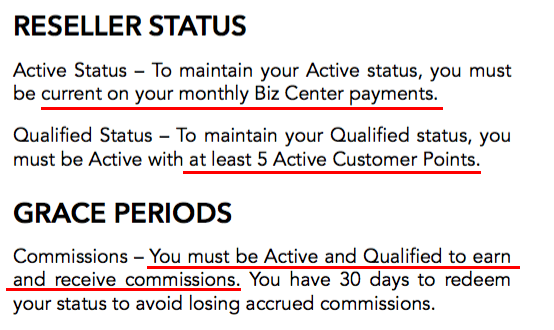 Staying Active Requirements