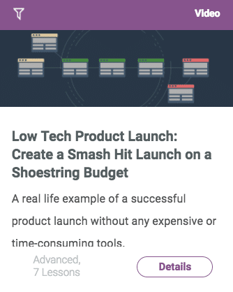 Easy Product Launch Class
