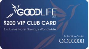 GoodLife USA VIP Club Card