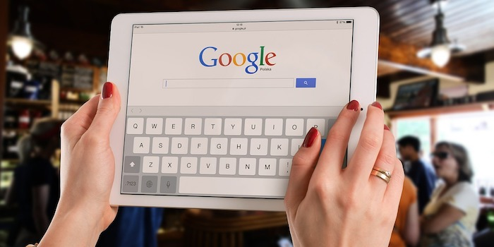 Business Website Search Using Google