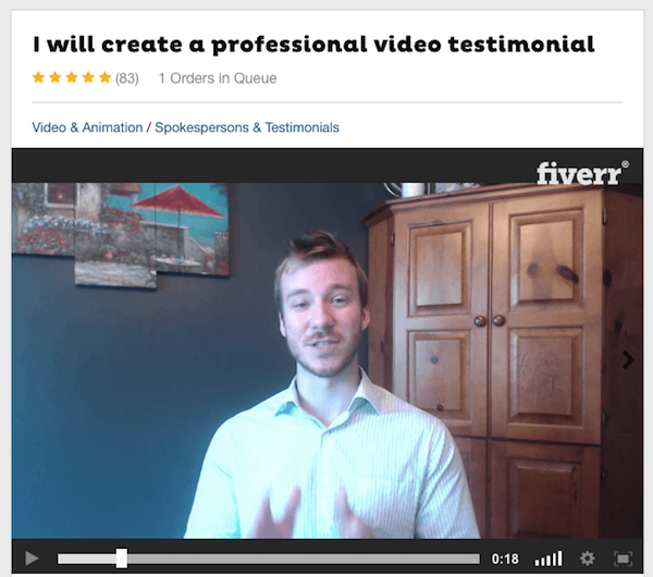 Paid Actor Fiverr