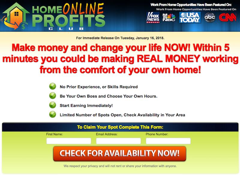 Link Posting - Legit Work From Home Job or Big Scam?