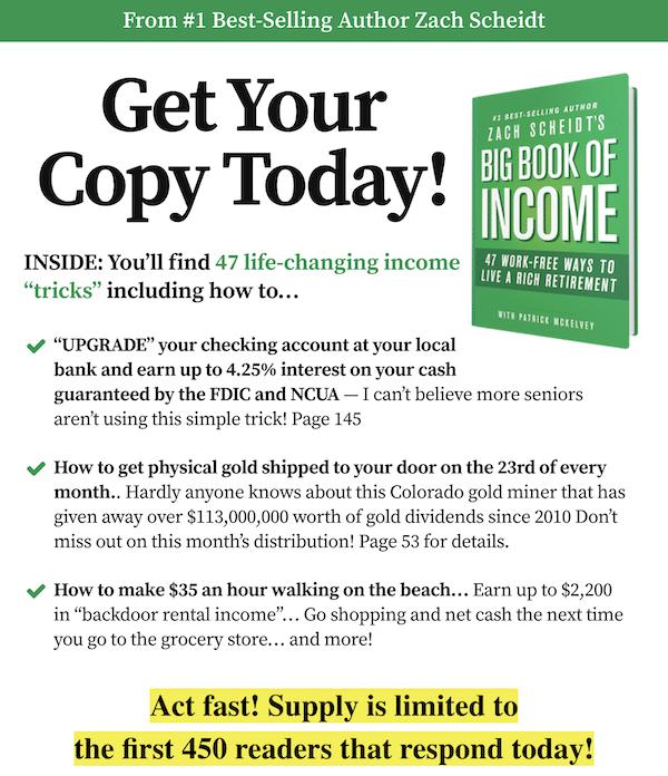 Big Book of Income by Zachery Scheidt