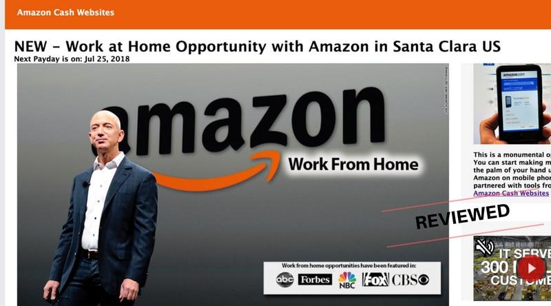 Amazon Cash Websites - Scam or Legit Work From Home Program