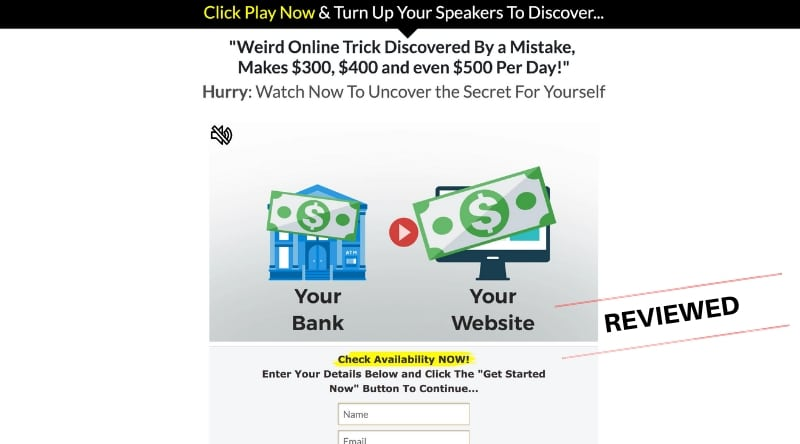 Real Profits Online - Scam or Legit Way To Make $500 Per Day Online