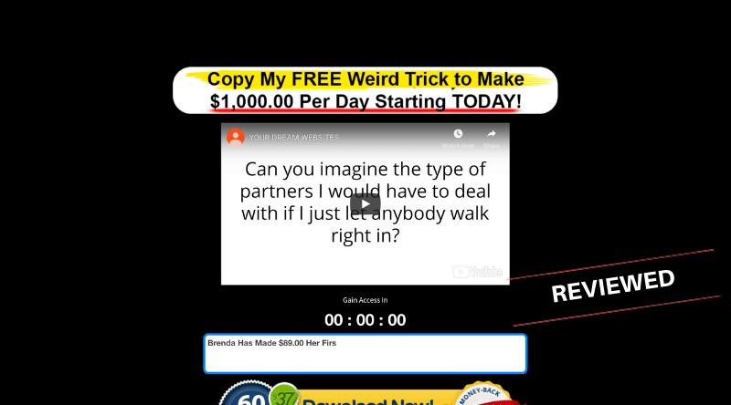 Your Dream Websites - Scam or Legit