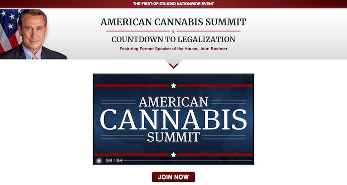 American Cannabis Summit Website