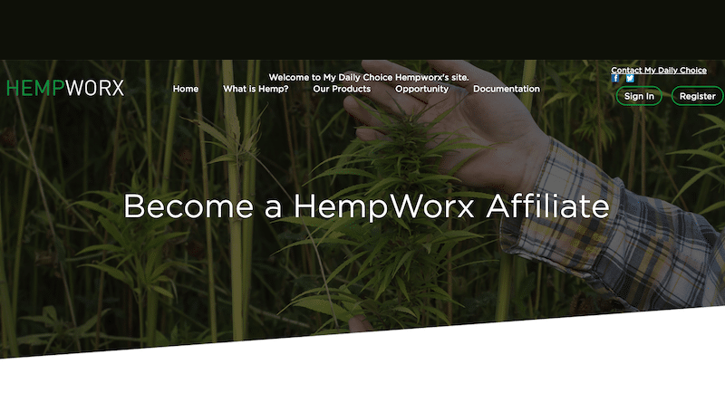 How To Become a HempWorx Distributor [3 Steps] - Affiliate