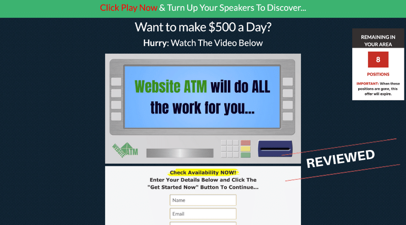 Website ATM Review - Scam or Legit System? — Affiliate UNguru