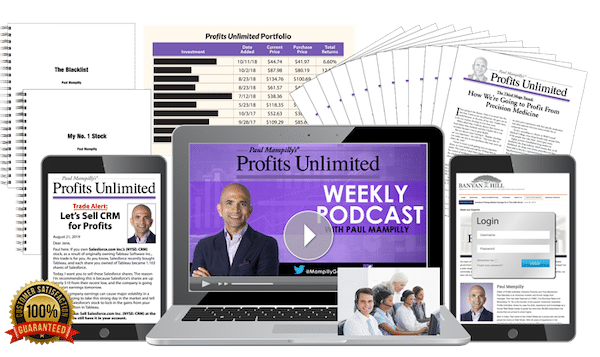 Profits Unlimited package