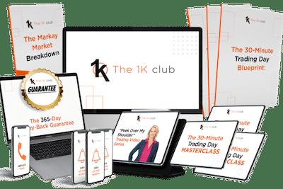 Markay Latimer's The 1K Club membership.